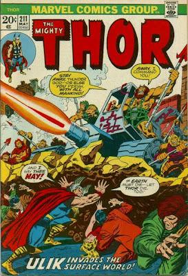 Thor #211, Ulik