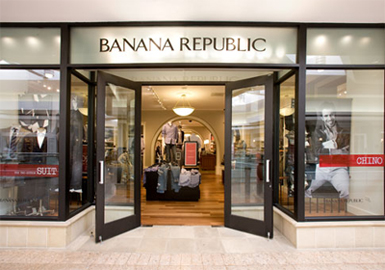 Mundo das marcas banana republic for Banana republic milano sito ufficiale