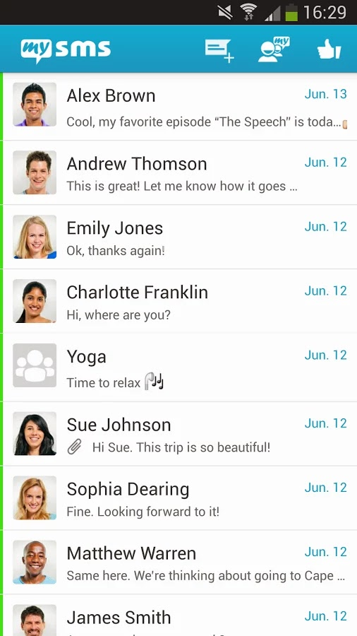 MySMS for Android