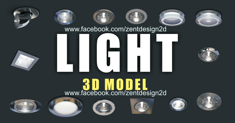 LIGHT 3D MODELS ~ ZENT DESIGN 2D