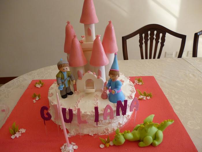 Castillo Encantado Con la Princesa y su Caballero