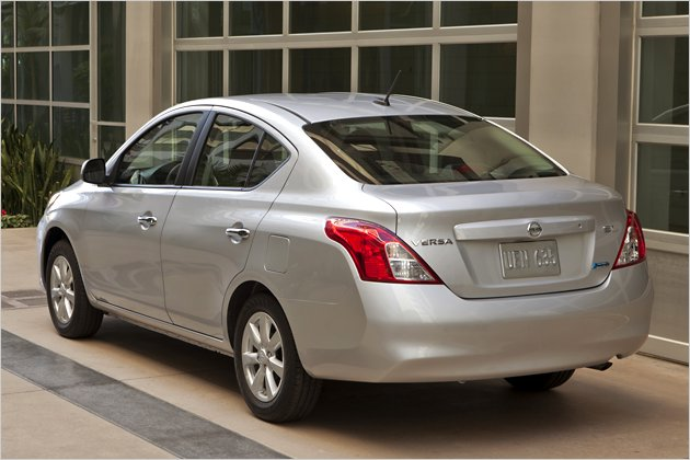 2012 New Edition Nissan Versa Sedan