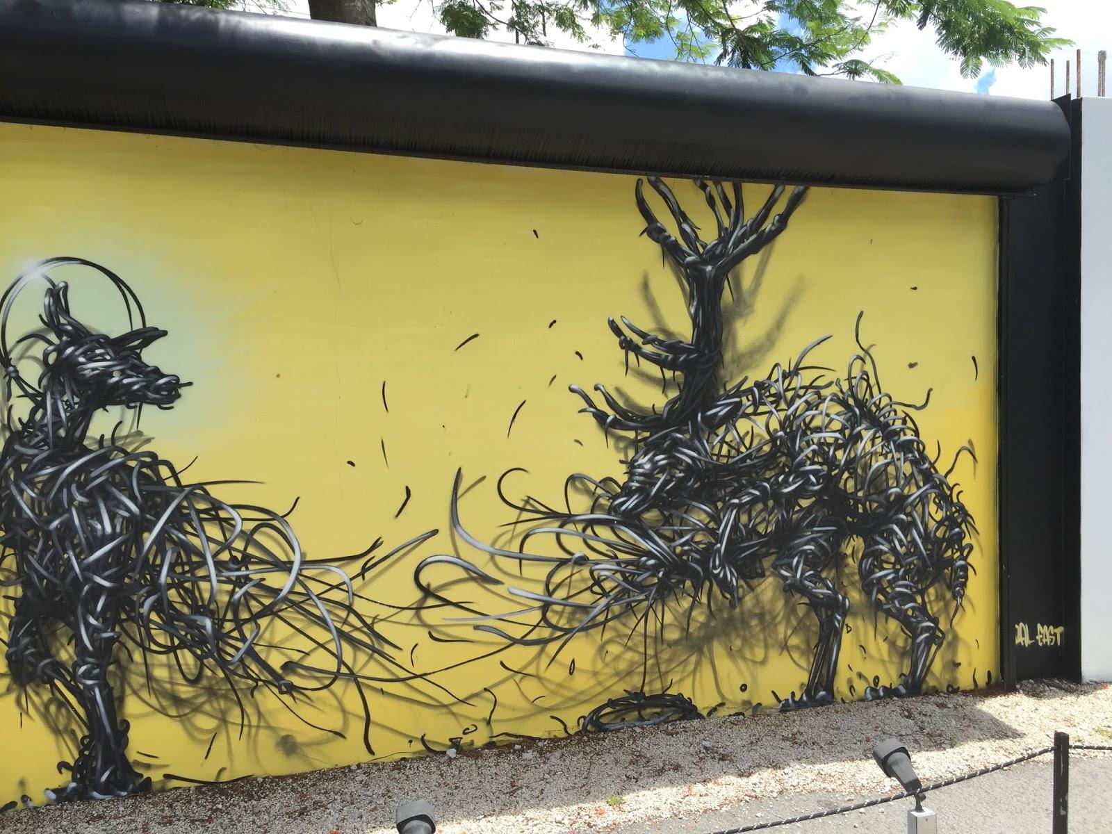 Frequent Traveler Ancestry: Miami Layover Street Art tour part 1