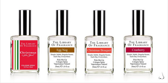 The Library Of Fragrance Christmas 2014 range