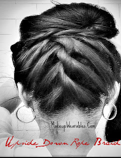 tHUMB+33 Korean Bun Hair Tutorial Video | Upside Down, French Rope Braid Updos