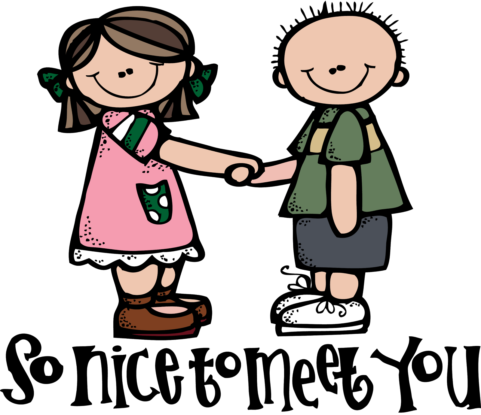 Meet Friends Clip Art