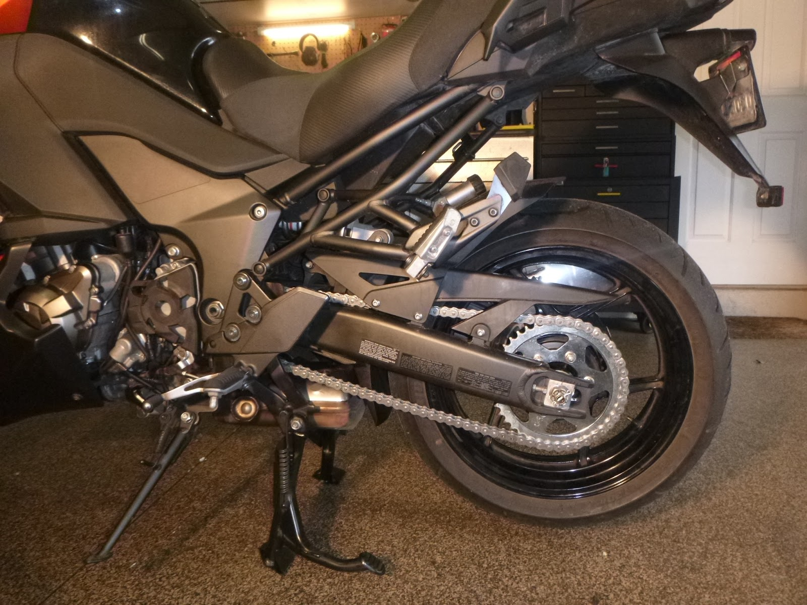 Kawasaki Versys Tire Pressure