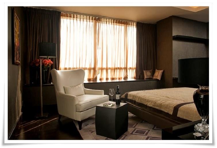 Phòng ngủ căn hộ mẫu tại Thảo Điền Pearl