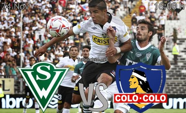 Santiago Wanderers vs Colo Colo - Campeonato Apertura - 16:00 h - 24/11/2013