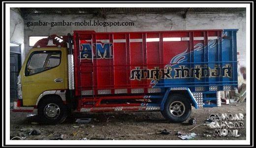 gambar bak mobil truk