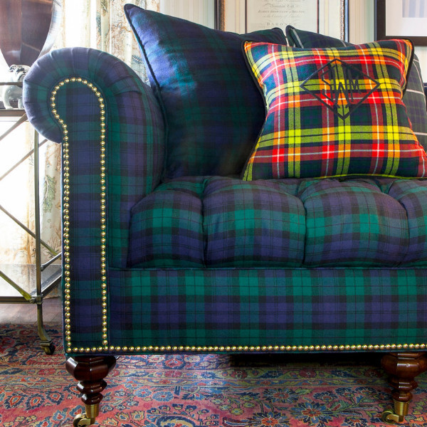 Pink Check Diamond Tartan Scot Plaid Fabric Material Seamless ...