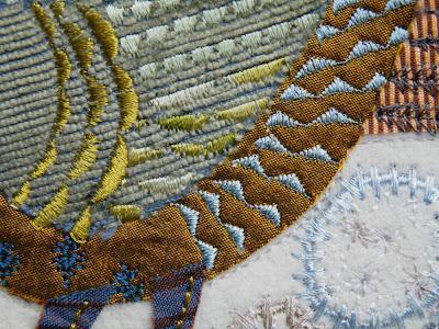 Silk, velvet, rayon thread