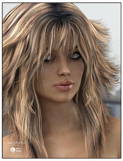 Mane cheveux pour Genesis 2 et 3 Femme et Victoria 4
