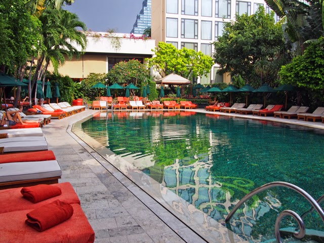 Pool at Mandarin Oriental Bangkok