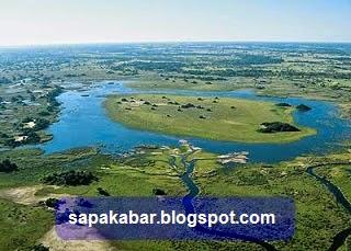 delta sungai sedimentasi
