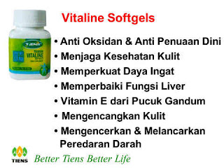 VITALINE SOFTGELS (PEMBERSIH)