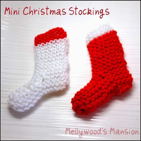 Mini Christmas Stocking Knitting Pattern Free Knitted Christmas Stockings.jpg
