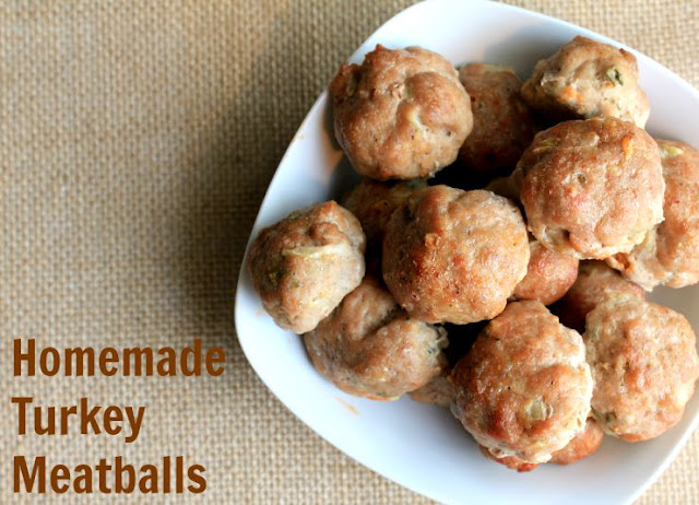 Homemade turkey meatballs. So delicious and so easy to make.