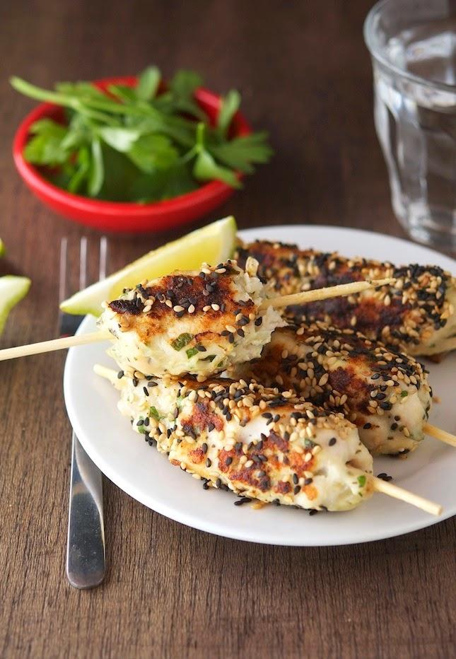 Sesame Chicken Kebabs (Low Carb & Gluten-Free)