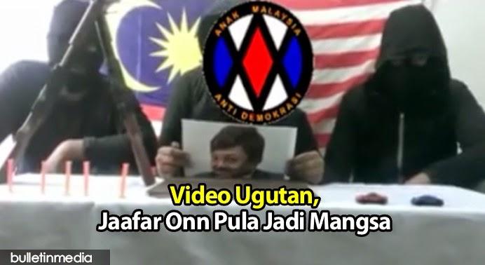 Video Ugutan, Lepas Nora Danish, Jaafar Onn Pula Jadi Mangsa 'Pengganas'