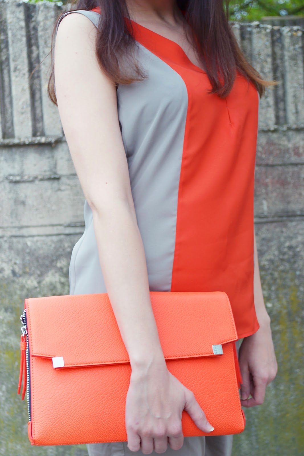 What to do with bad mood_Katharine-fashion is beautiful_Animal Print Baleríny_Oranžová kabelka_Katarína Jakubčová_Fashion blogger