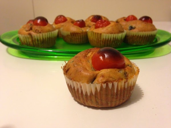 bimby, muffin salati con zucchine e pomodorini
