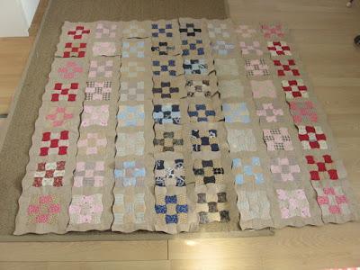 Klokhuis quilt