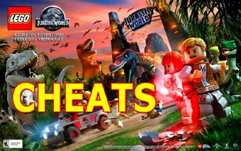 TODOS OS CHEATS  LEGO JURASSIC WORLD - DETONADO E DESTRAVAR PERSONAGENS, CLIQUE NA IMAGEM AQUI: