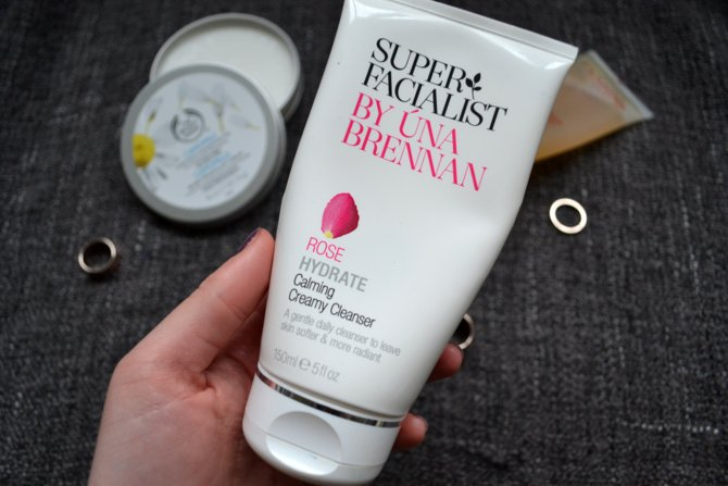 Super Facialist By Una Brennan Rose Hydrate Calming Creamy Cleanser