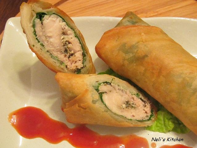 Tuna Albacore Spring Roll