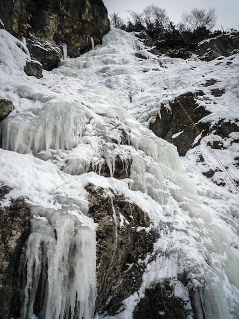 Lodospady - Kaskady