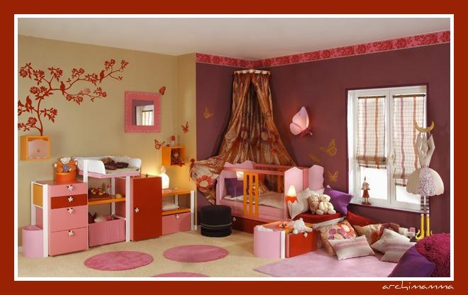 Decoraci n dormitorios ni as con cenefas imagui - Cenefas para habitaciones ...