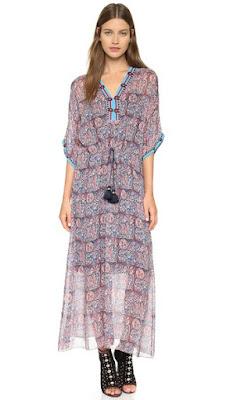 Figue Calista long dress Shopbop
