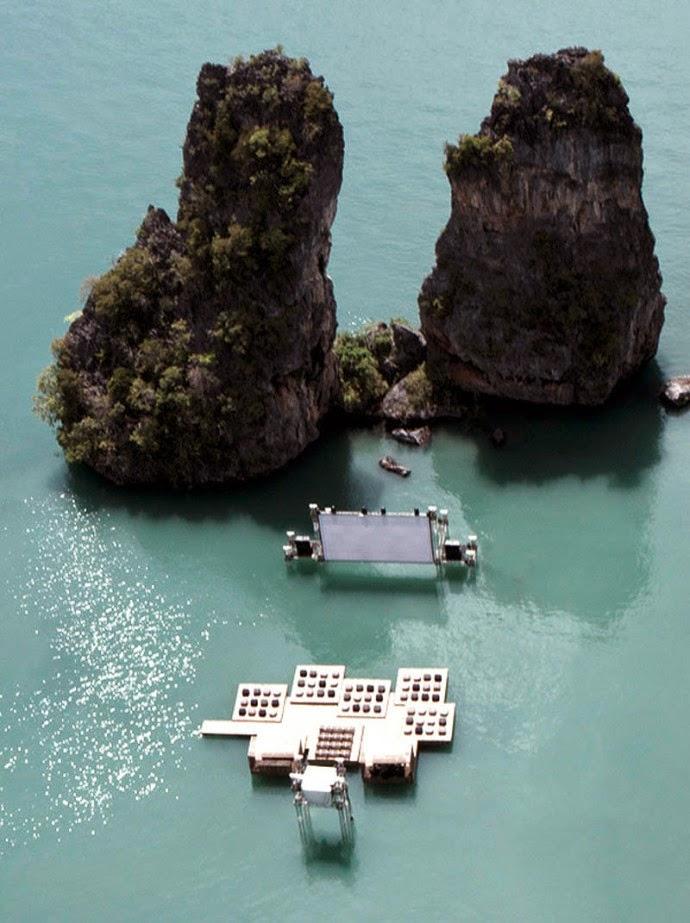 cine flotante en tailandia