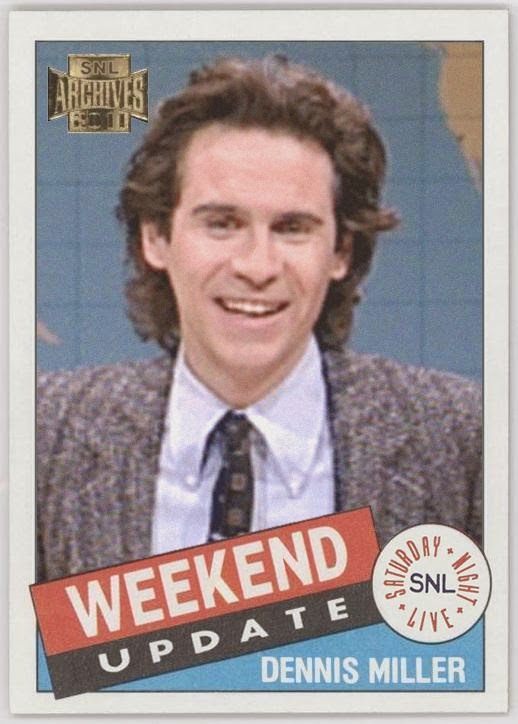 The baseball card blog awesome set topps snl archives for Dennis mill cabin