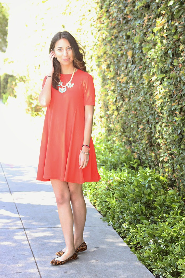 how to style a red dress
