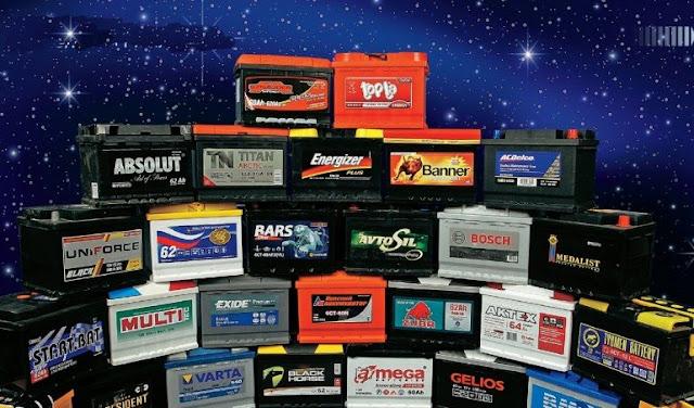 акумуляторы для легковушек