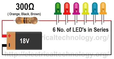 how to calculate the value of resistor for series circuit