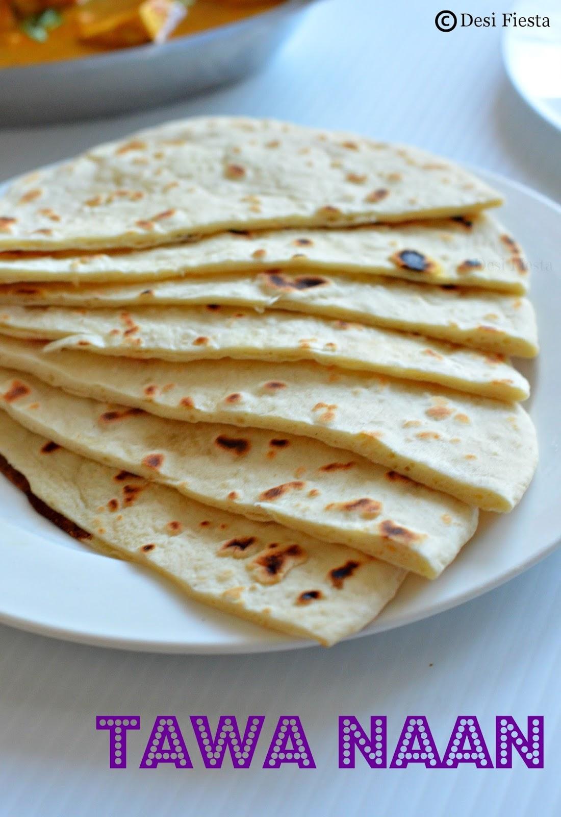 Naan yeast free