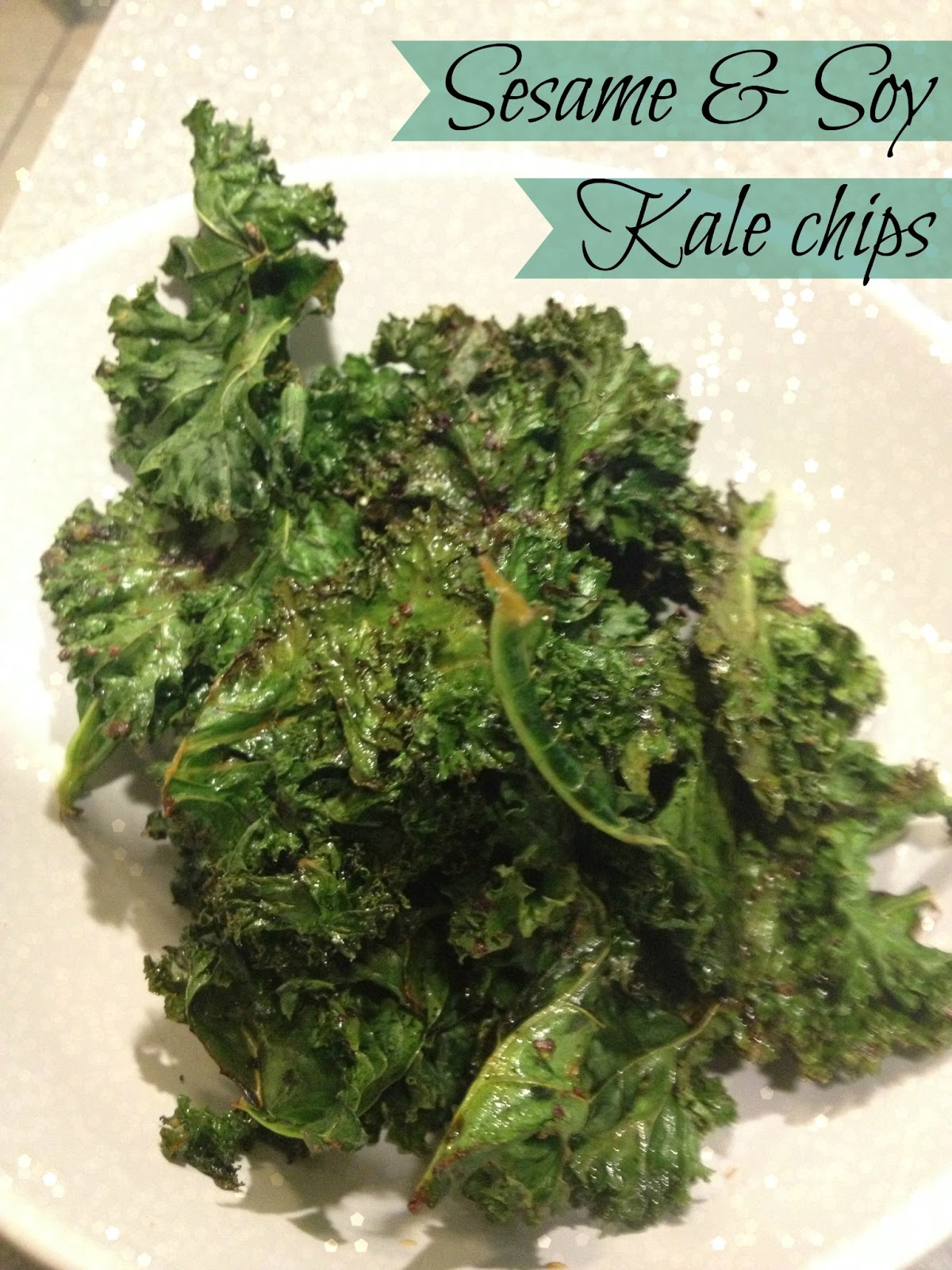 The Bougie Life: The Best Kale Chips- Sesame & Soy ...