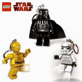 llaveros con luz Lego Star Wars