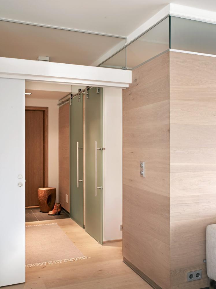 casas minimalistas y modernas paneles de madera modernos