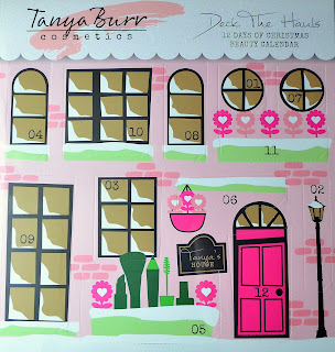 Tanya Burr cosmetics deck the hauls beauty calendar