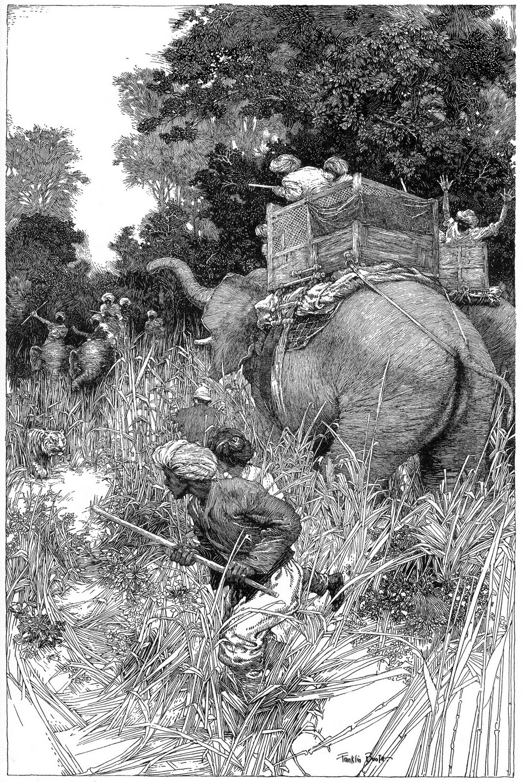 Pen And Ink Illustrations : Ixgart art history franklin booth
