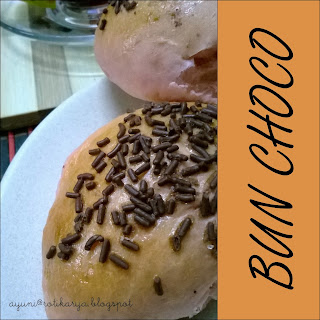 Resepi Bun Coklat/Choco dan Butter