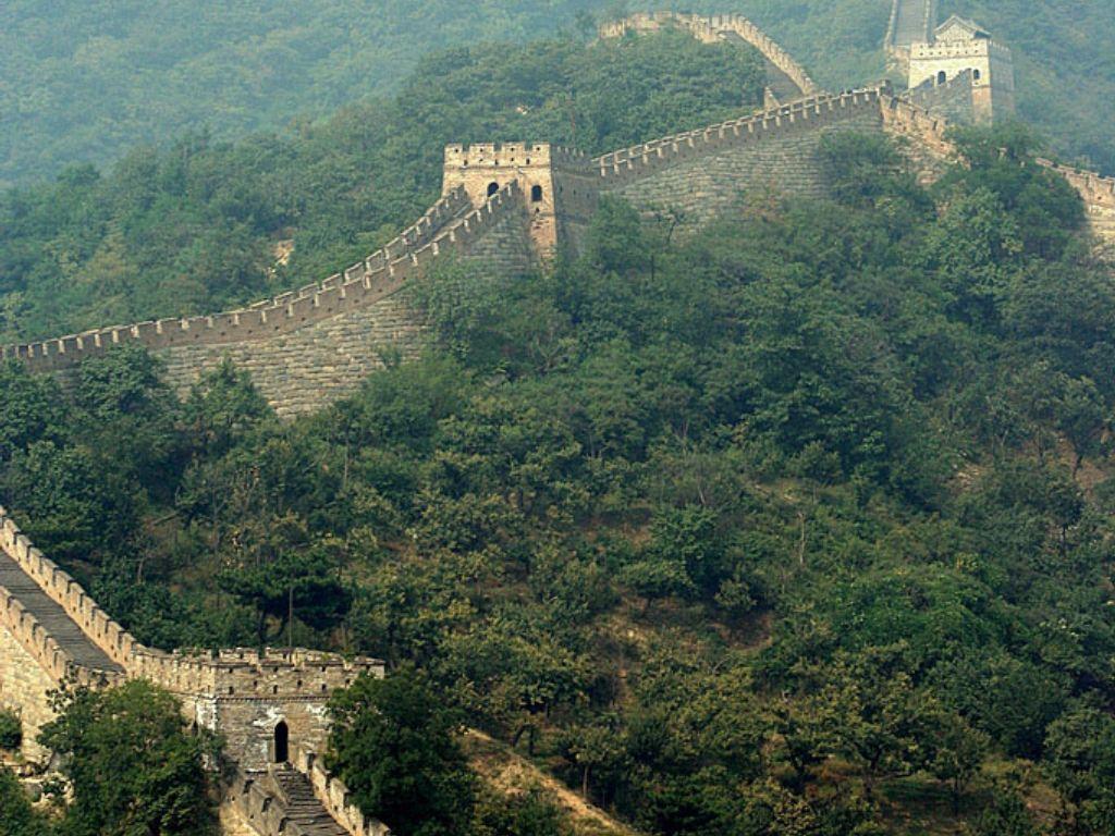 La gran muralla china lugares sorprendentes for Q es la muralla china