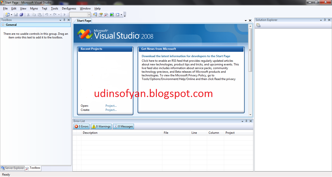 Unable to install Visual Studio 2008 QFE hotfix for