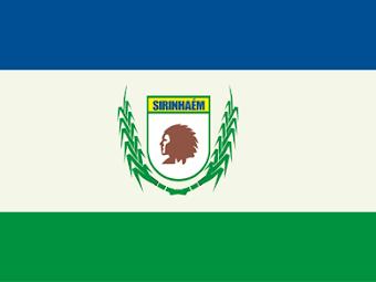 BANDEIRA DO MUNICÍPIO DE SIRINHAÉM-PE