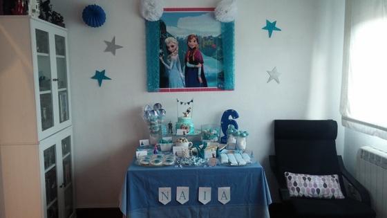 imagen_frozen_cumpleaños_casa_niña_azul_hielo_organizar_burgos_bilbao