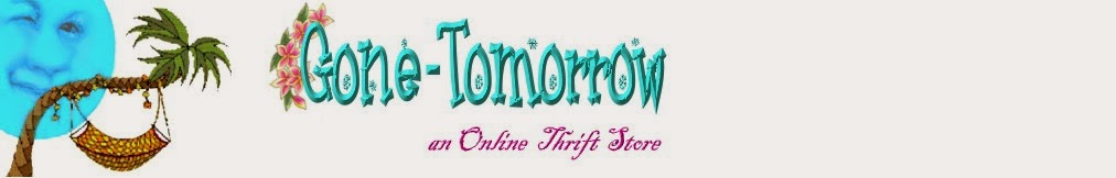 Gone-Tomorrow Online Thrift Store